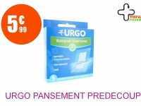 URGO Pansement prédécoupé waterproof grand format Boîte de 5