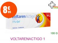 VOLTARENACTIGO 1 % Gel 1T lamin/100g